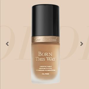 Too Faced Born This Way Foundation -barely used